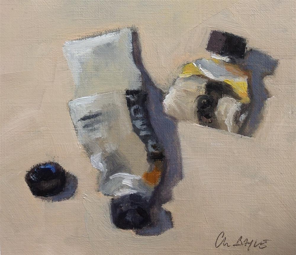 """Paints"" original fine art by Christine Bayle"