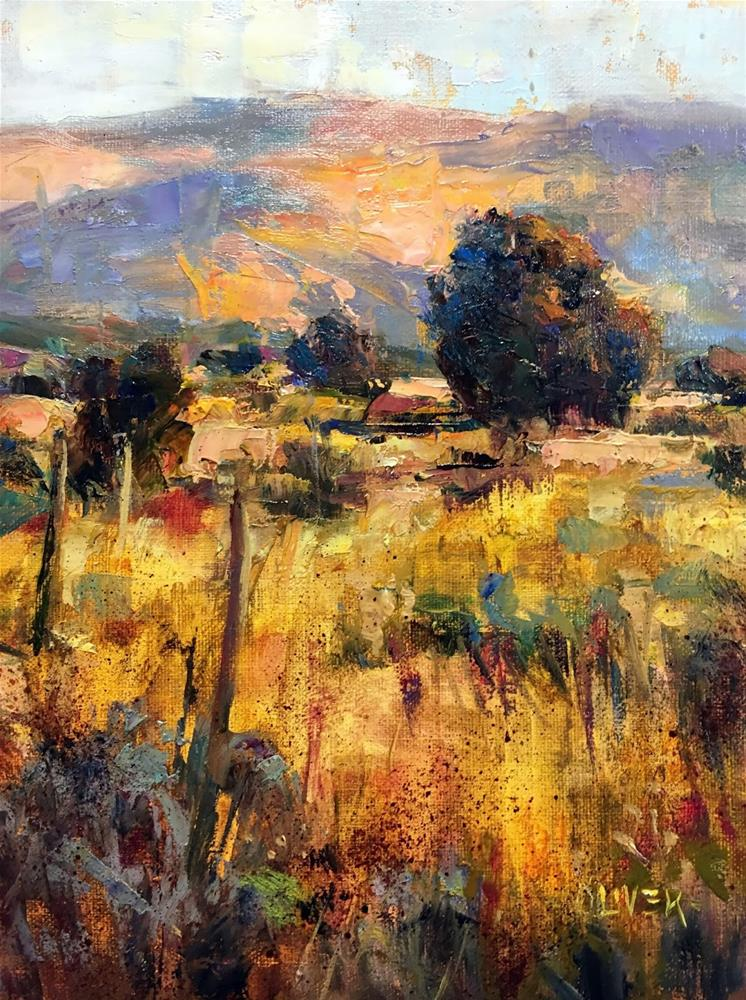 """Transparents in the Landscape"" original fine art by Julie Ford Oliver"
