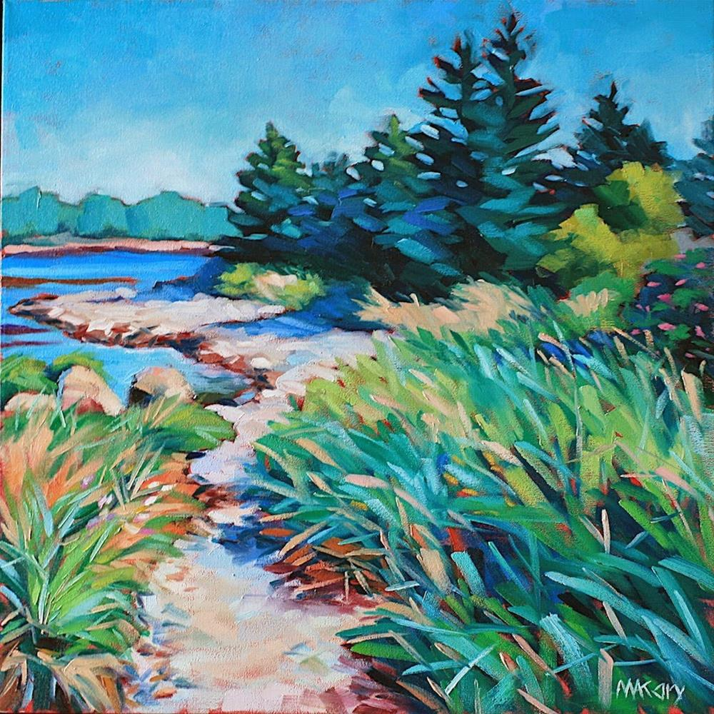 """Island Life"" original fine art by Mary Anne Cary"