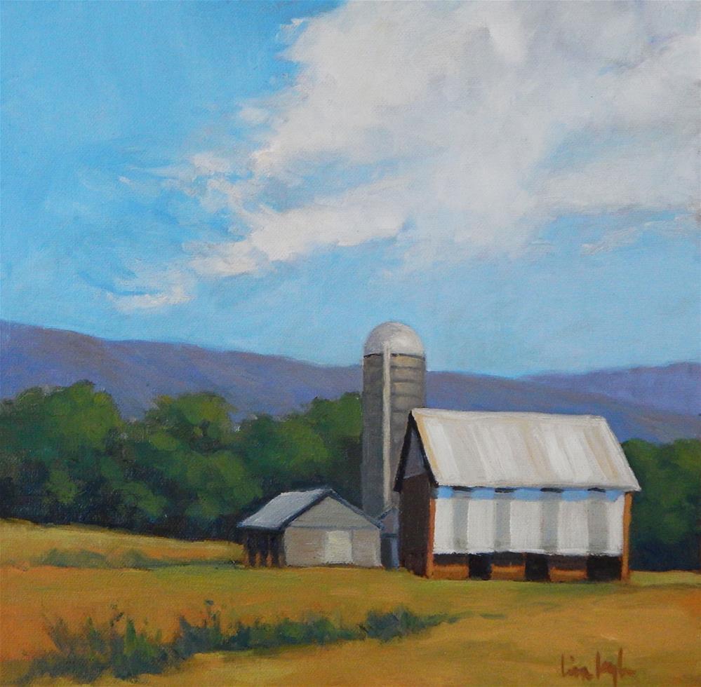 """American Farm"" original fine art by Lisa Kyle"