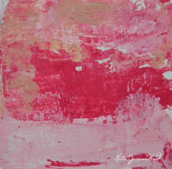 """""""Abstract No 63"""" original fine art by Katie Jeanne Wood"""