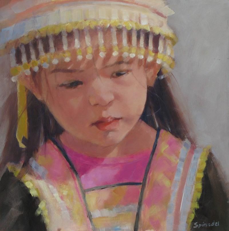 """Untitled"" original fine art by Nancy  Spinadel"