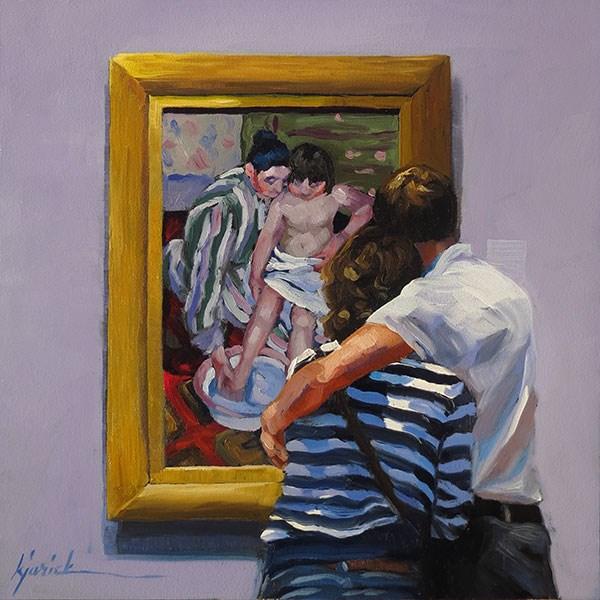 """Tender Loving Care"" original fine art by Karin Jurick"