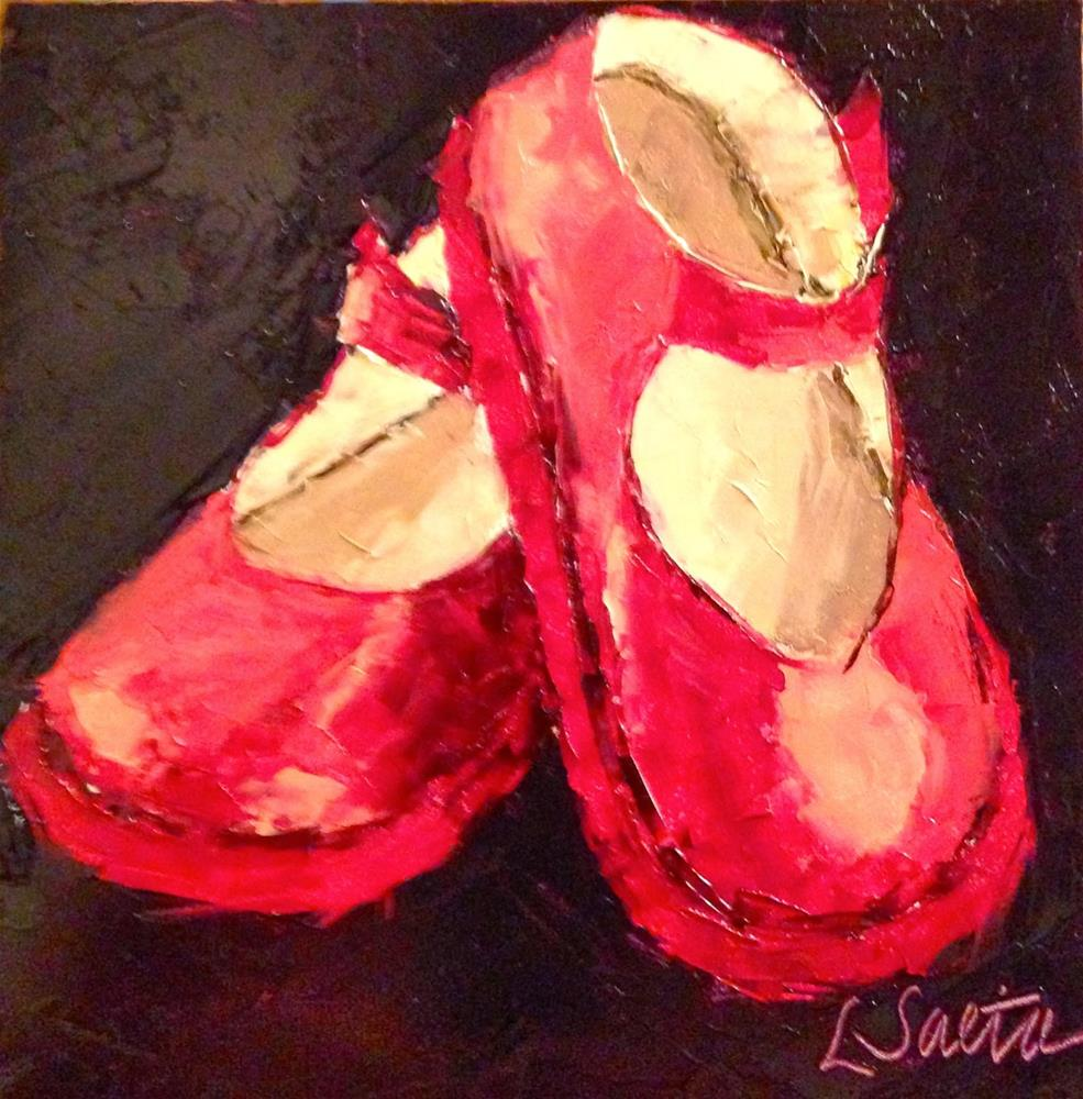 """Thirty Paintings in 30 Days - Day Twenty-Four"" original fine art by Leslie Saeta"