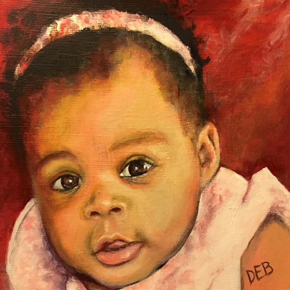 """Talia"" original fine art by Debbie Yacenda"