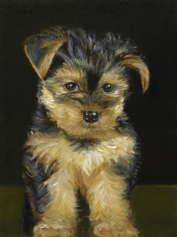 """""""Little Jo Jo"""" original fine art by Lisa Wald"""