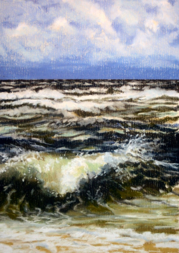 """Storm on the Horizon"" original fine art by Jill Bates"