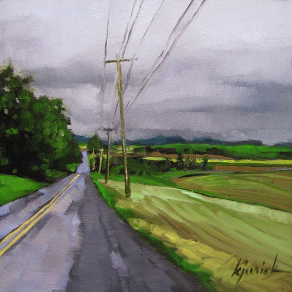 """Going Grey"" original fine art by Karin Jurick"