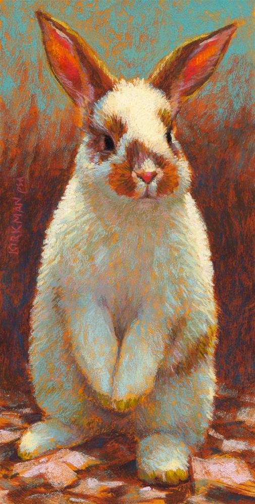 """Buster"" original fine art by Rita Kirkman"