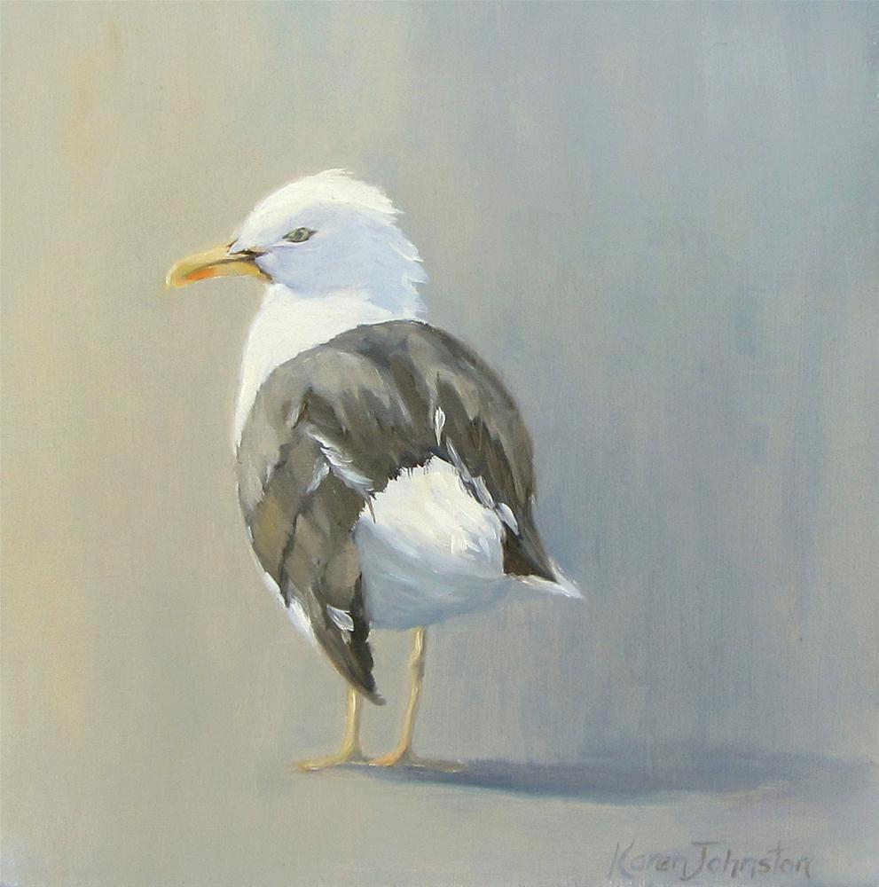 """""""Standing in the Morning Sun"""" original fine art by Karen Johnston"""