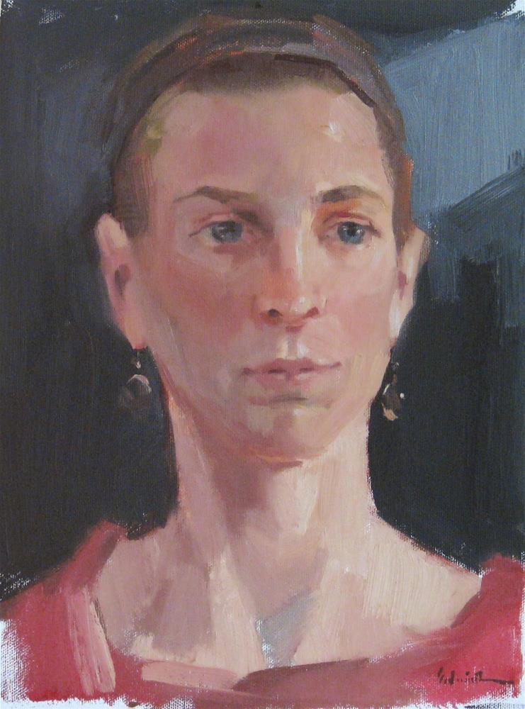"""Maggie"" original fine art by Sarah Sedwick"