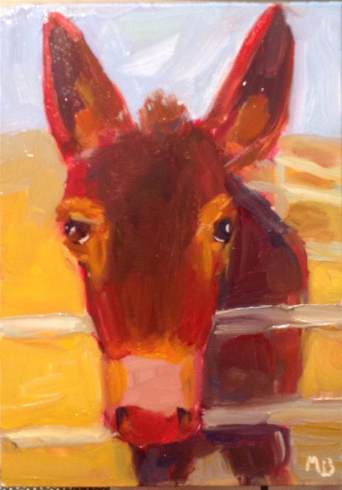 """""""Jenny"""" original fine art by Marcia Bergtholdt"""