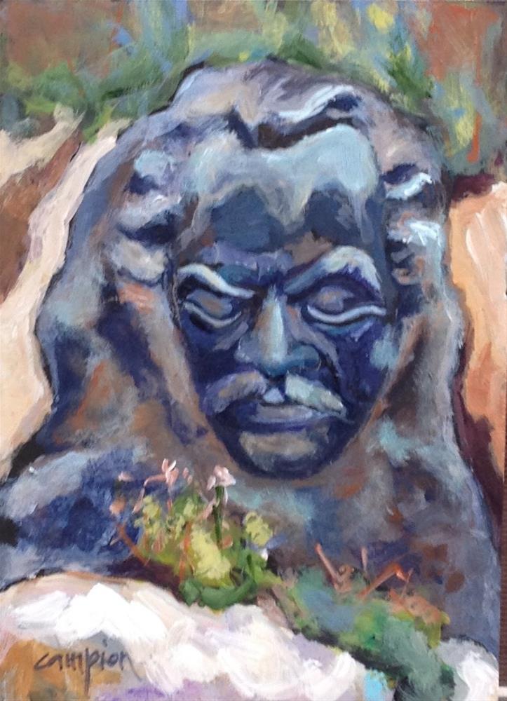 """The Prophet"" original fine art by Diane Campion"