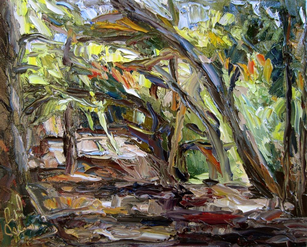"""Temescal Park"" original fine art by Carol Steinberg"