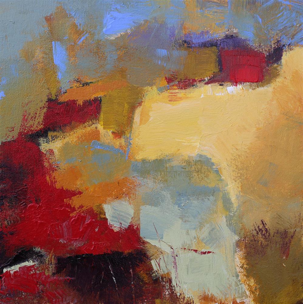 """""""Precipice"""" original fine art by Elizabeth Chapman"""