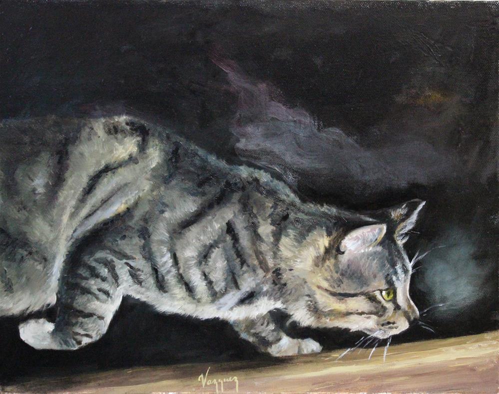 """""""curios"""" original fine art by Marco Vazquez"""