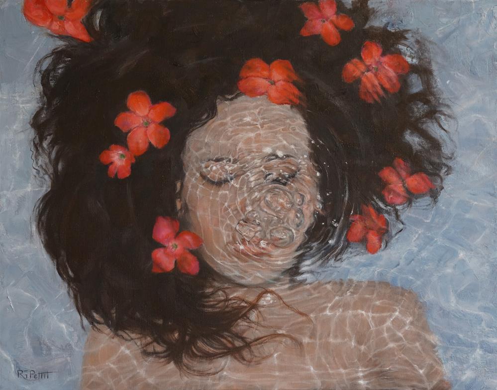 """Bliss"" original fine art by Rhea  Groepper Pettit"