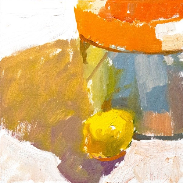 """Summer Lemon"" original fine art by Randall Cogburn"