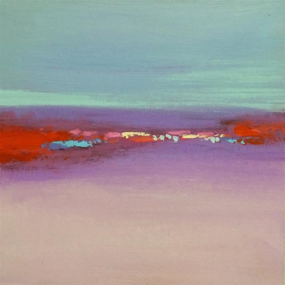"""Landscape 215"" original fine art by Ewa Kunicka"