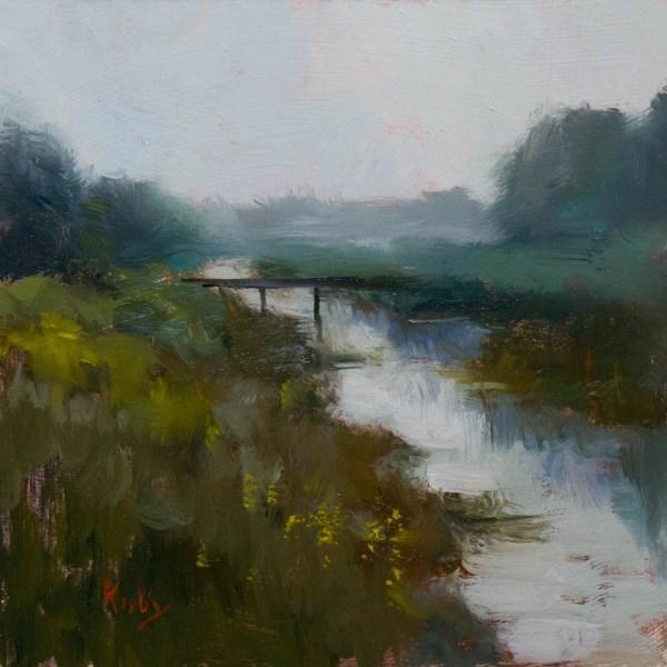"""The Bridge Over"" original fine art by Randall Cogburn"