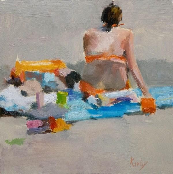 """Beach Stuff"" original fine art by Randall Cogburn"