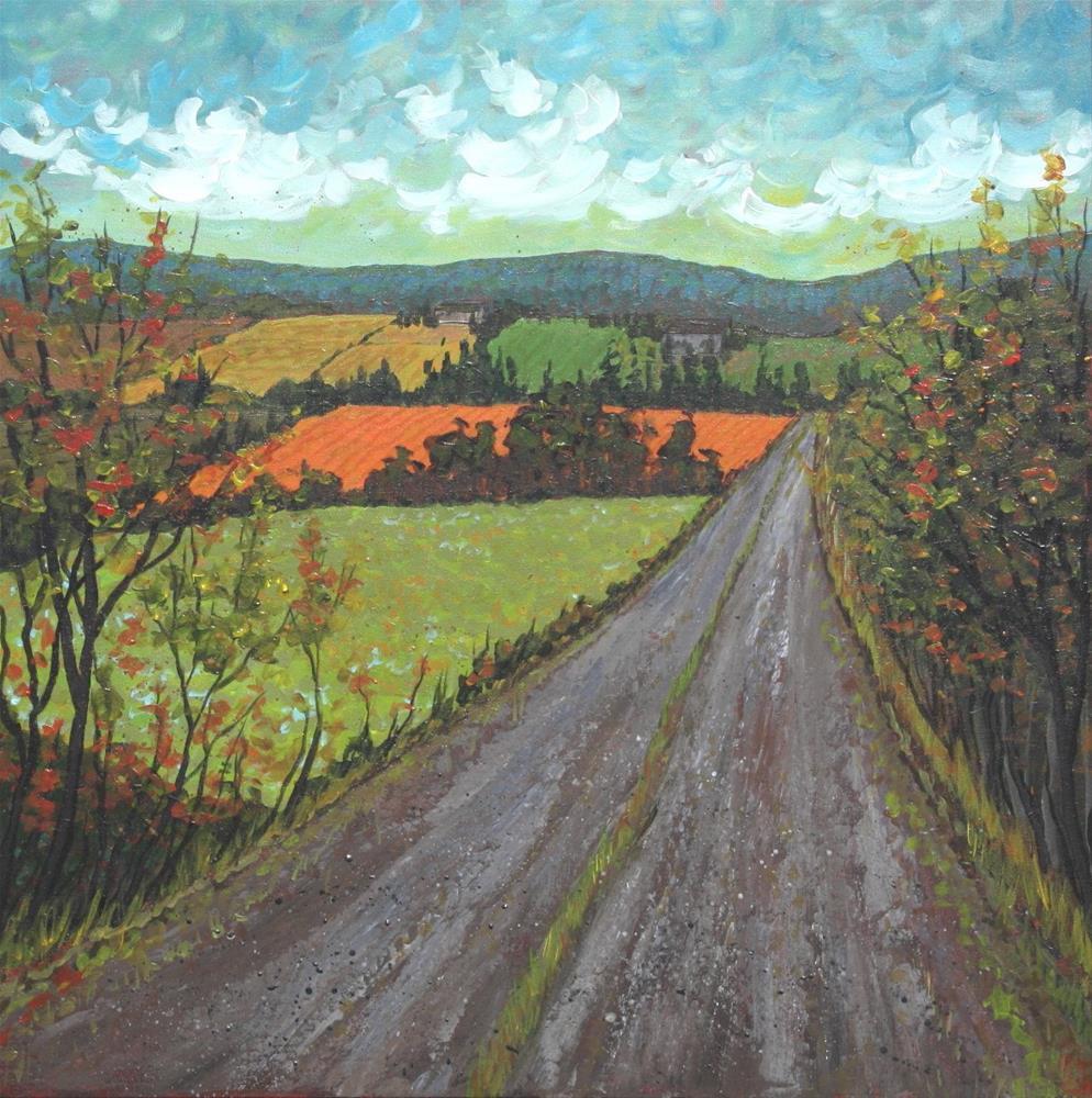"""Road to Scotsburn"" original fine art by Sage Mountain"