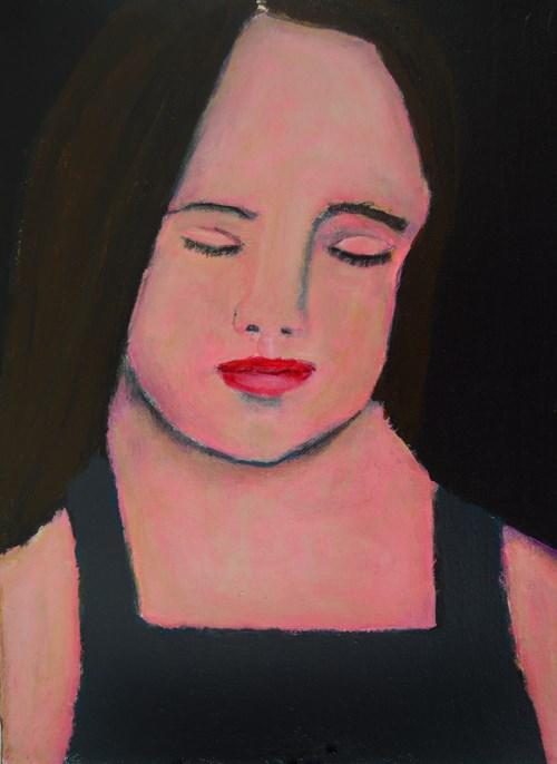 """""""In Your Dreams"""" original fine art by Katie Jeanne Wood"""