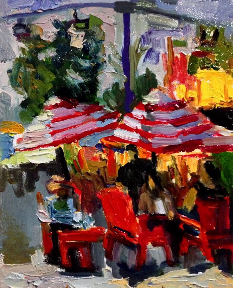 """Twilight at the LA County Fair"" original fine art by Carol Steinberg"