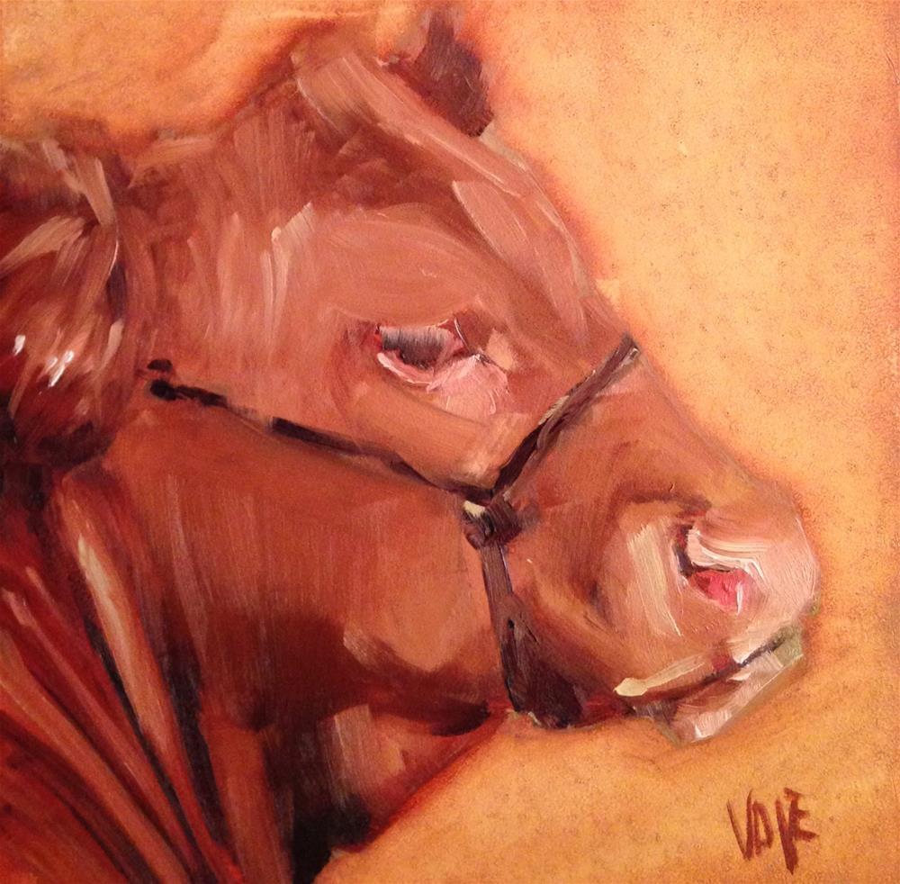 """#206 John Adams"" original fine art by Patty Voje"