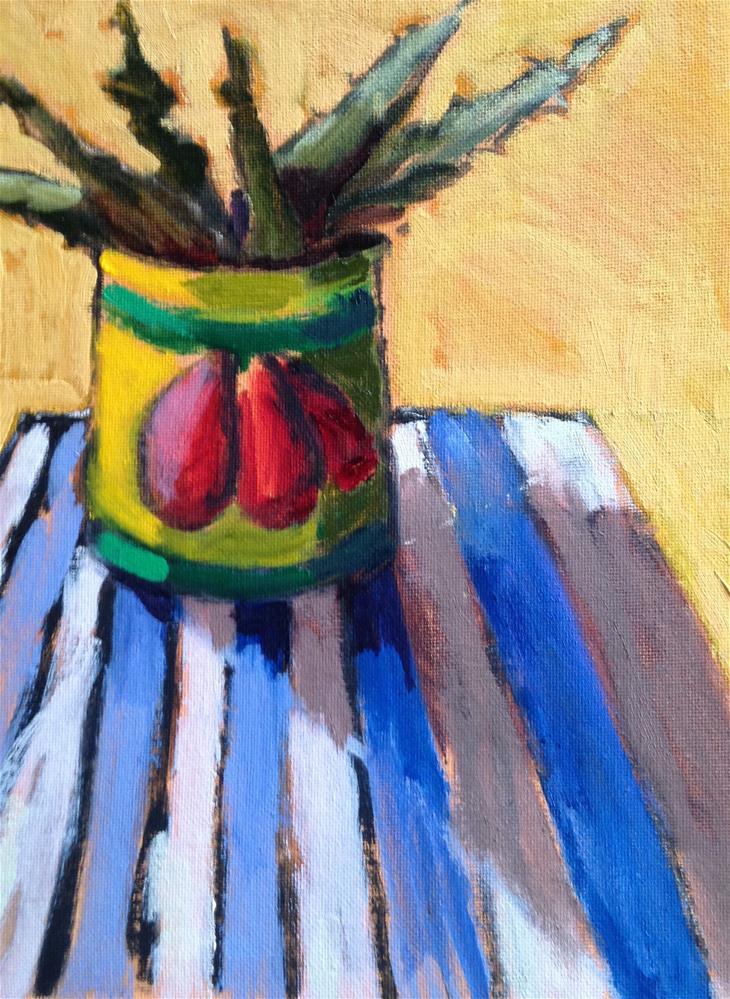 """""""Canned Aloe"""" original fine art by Pamela Hoffmeister"""