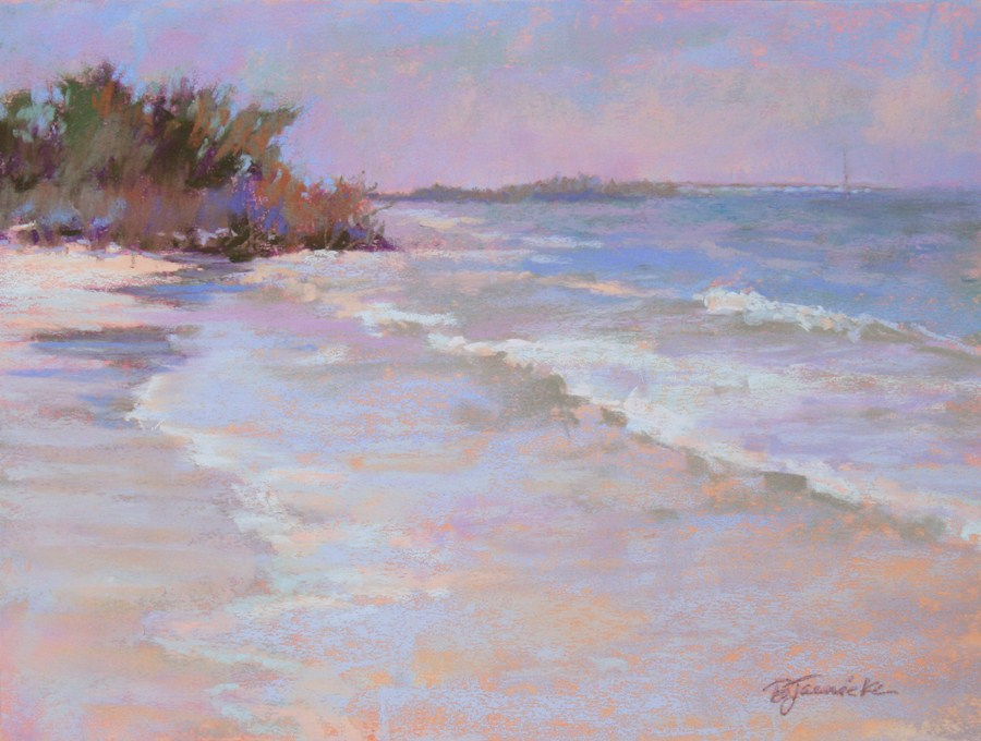 """Just the Sound of the Ocean"" original fine art by Barbara Jaenicke"