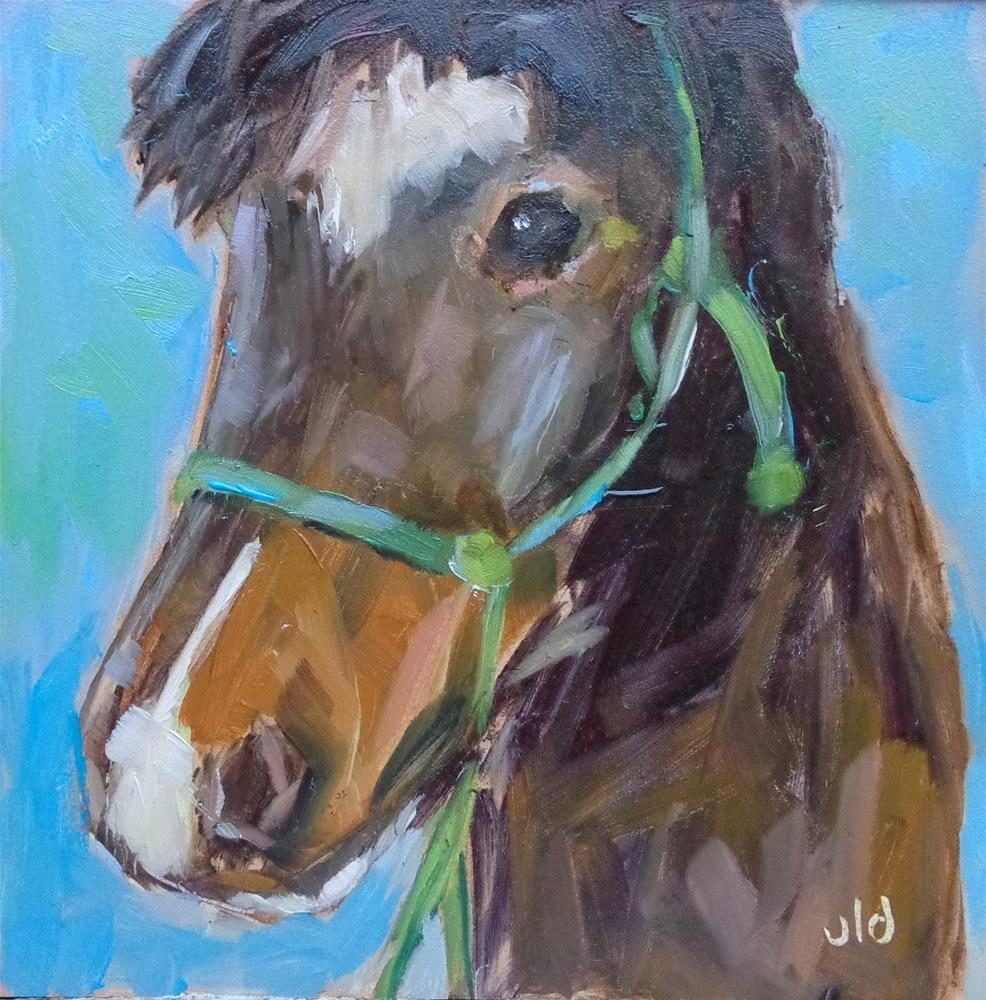 """SWEET PONY"" original fine art by Jean Delaney"