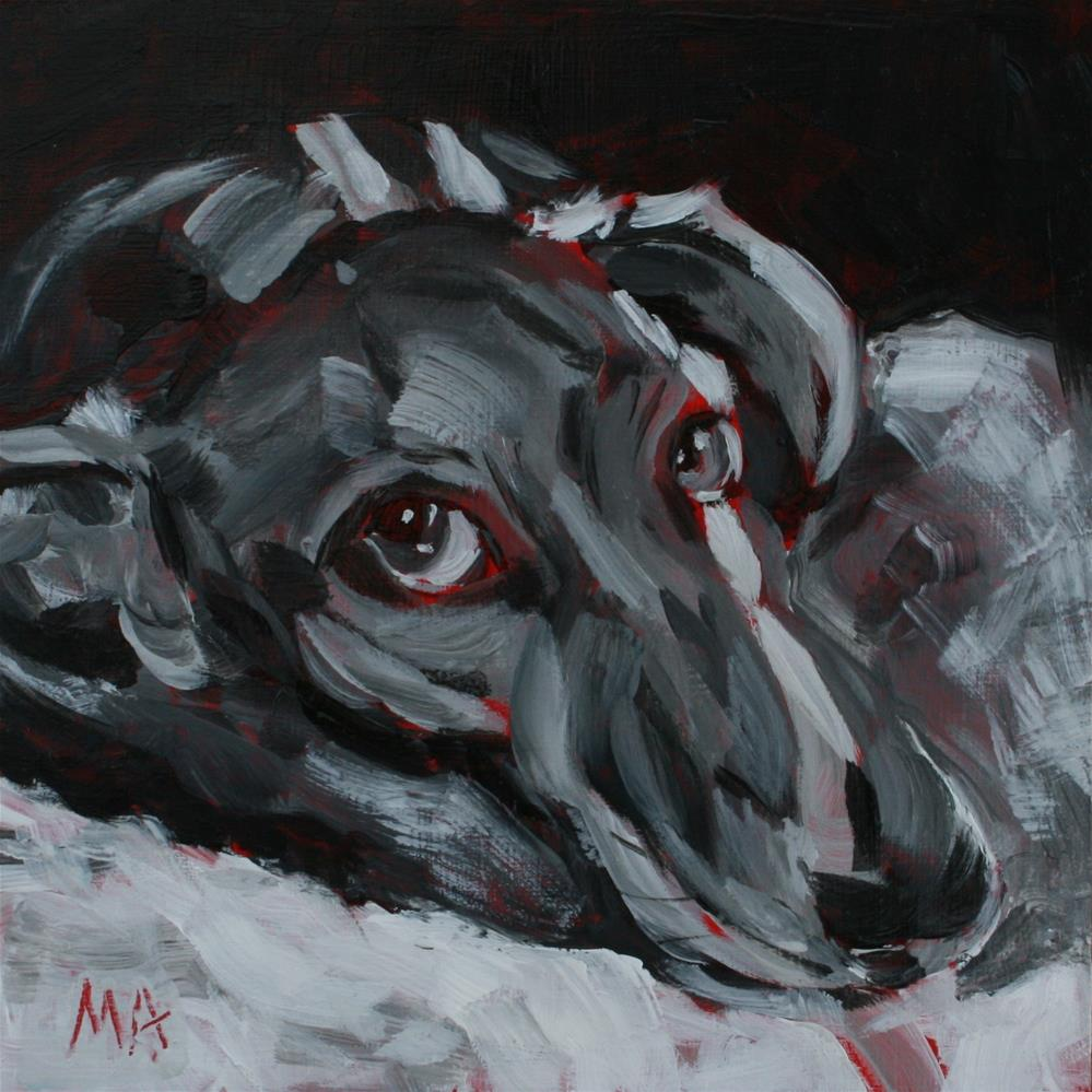 """Grief"" original fine art by Aniko Makay"