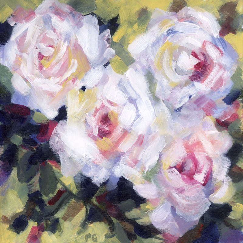 """Rose Pose"" original fine art by Pamela Gatens"