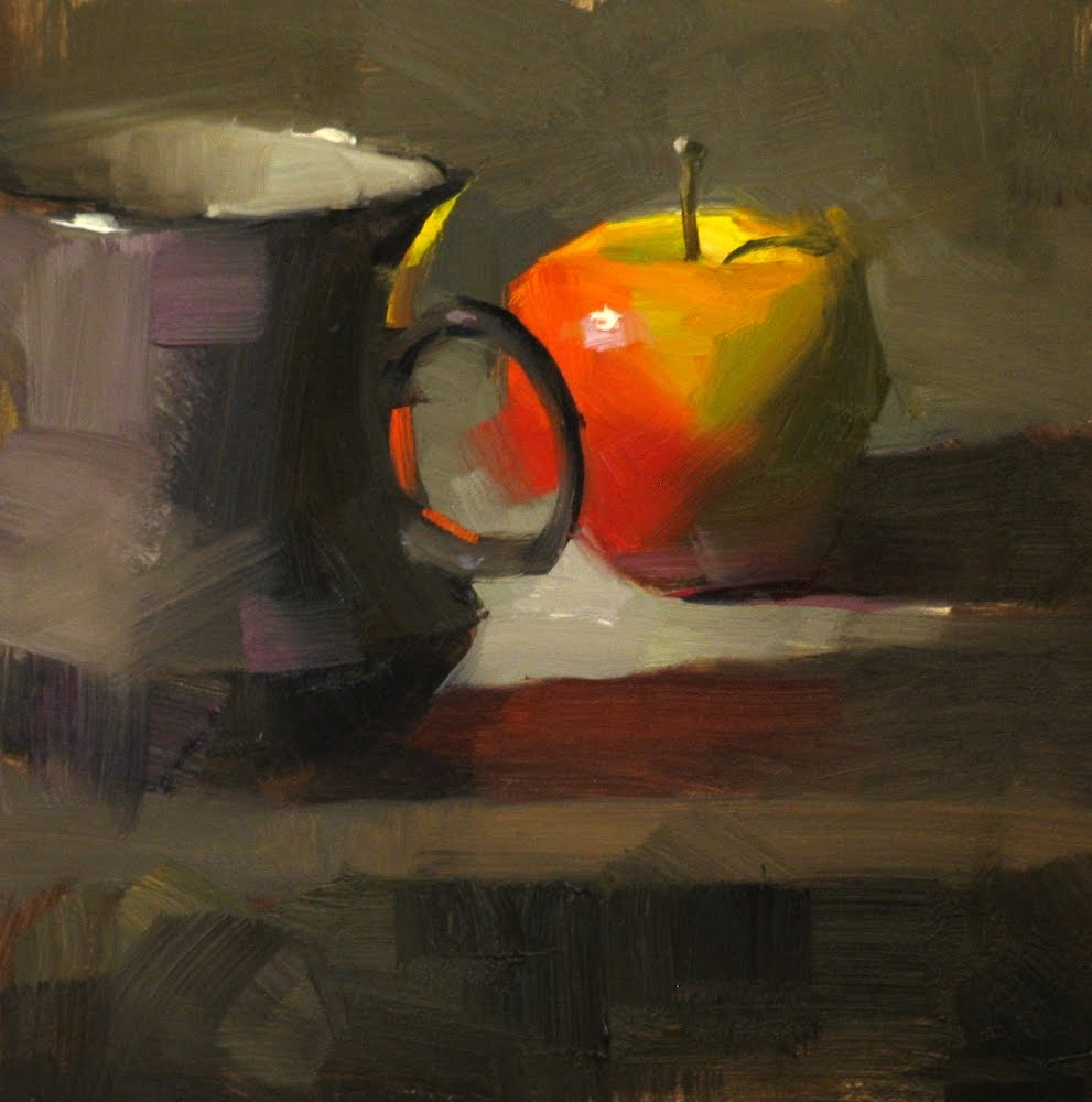"""""""Stand By"""" original fine art by Qiang Huang"""