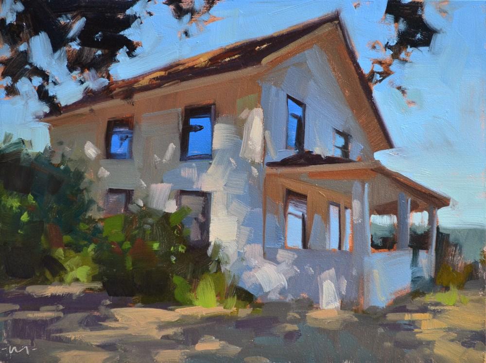 """""""Shady House"""" original fine art by Carol Marine"""