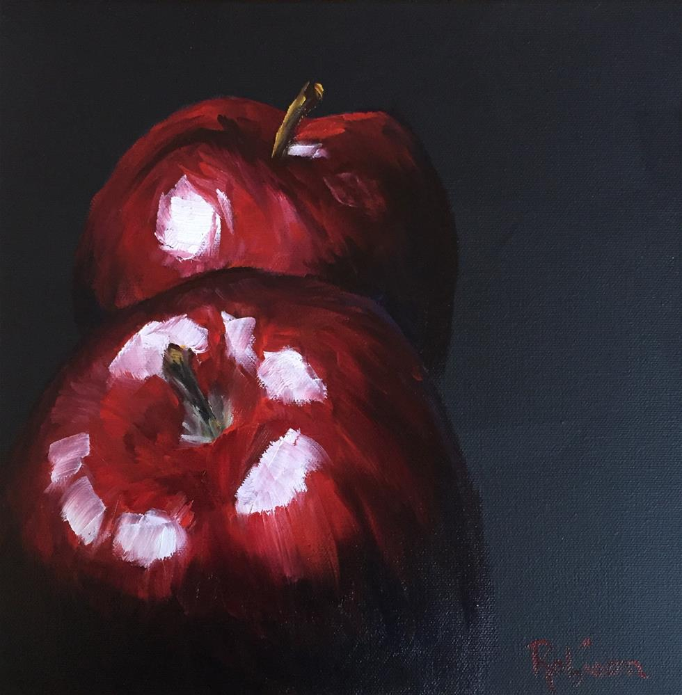 """Deliciously Red"" original fine art by Renee Robison"
