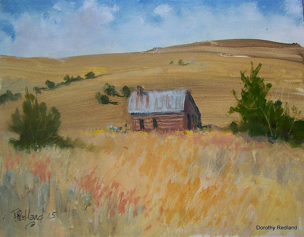 """Little House on the Prarie"" original fine art by Dorothy Redland"