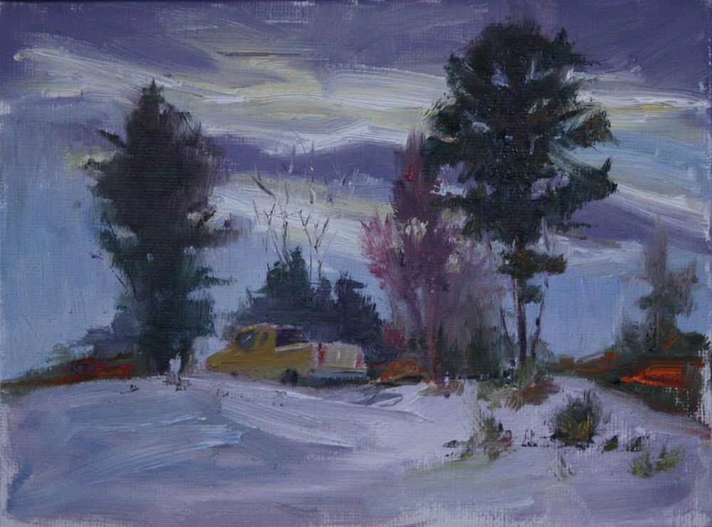 """Dad's Truck"" original fine art by Sheila Marie"
