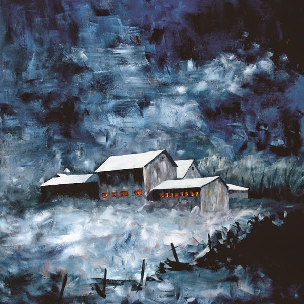 """Barn #28"" original fine art by Anna Vreman"