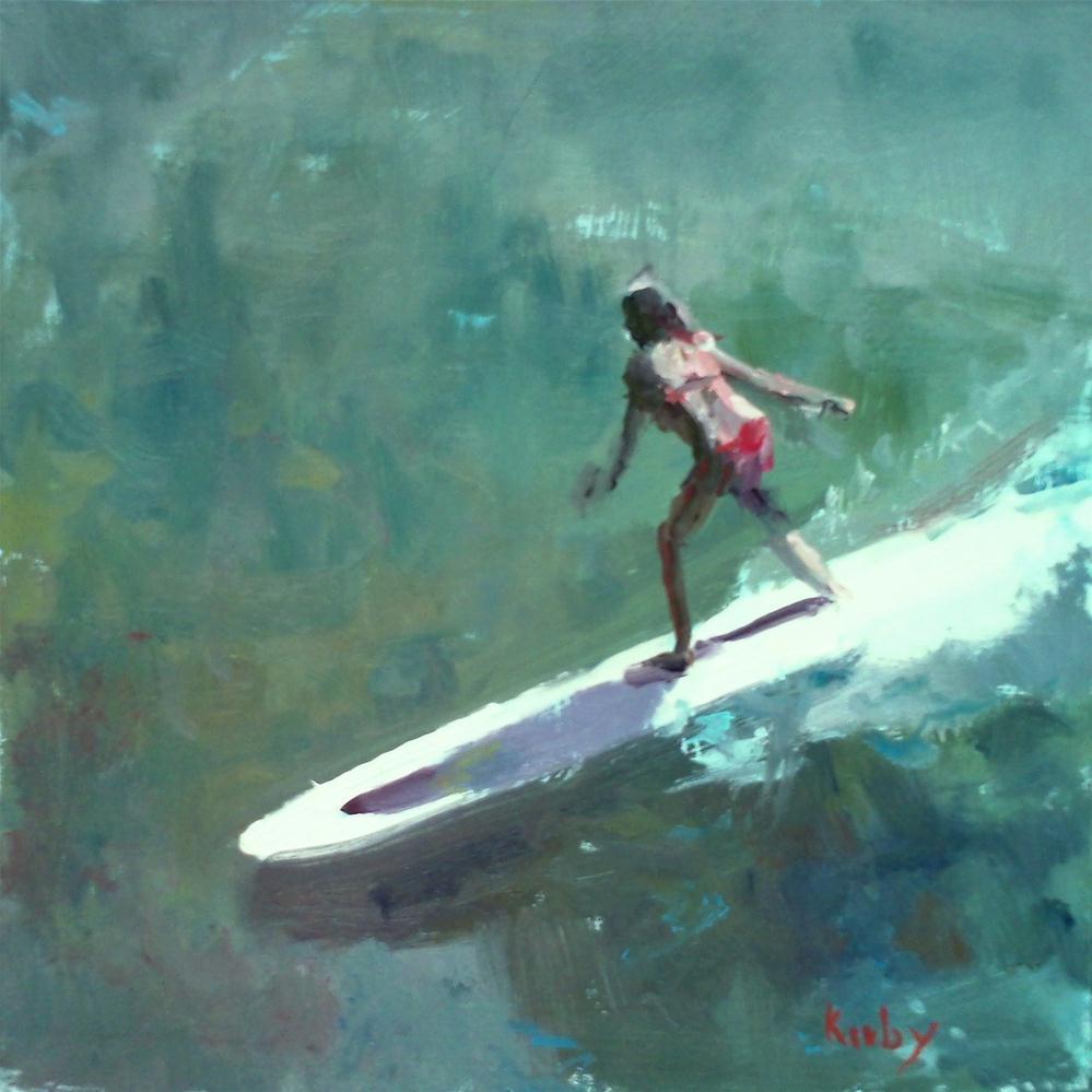 """The Ride"" original fine art by Randall Cogburn"
