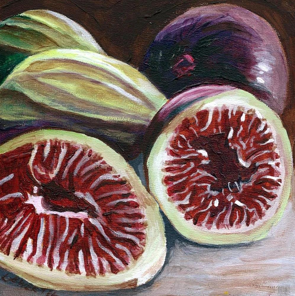 """Nature's Candy"" original fine art by Lisa Wiertel"