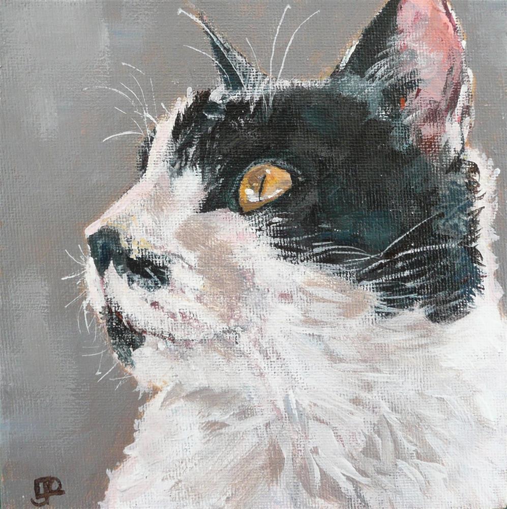 """""""Smiley"""" original fine art by Leanne Owen"""