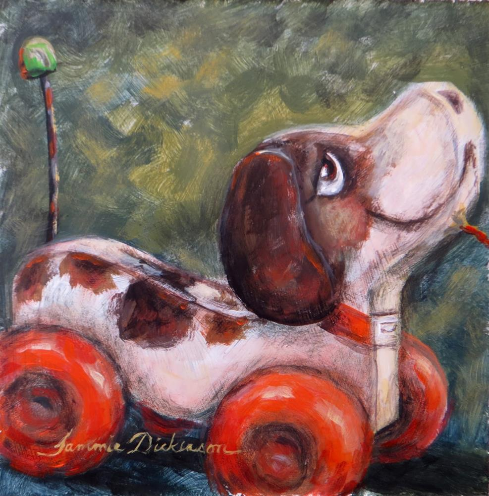 """Little Snoopy"" original fine art by Tammie Dickerson"
