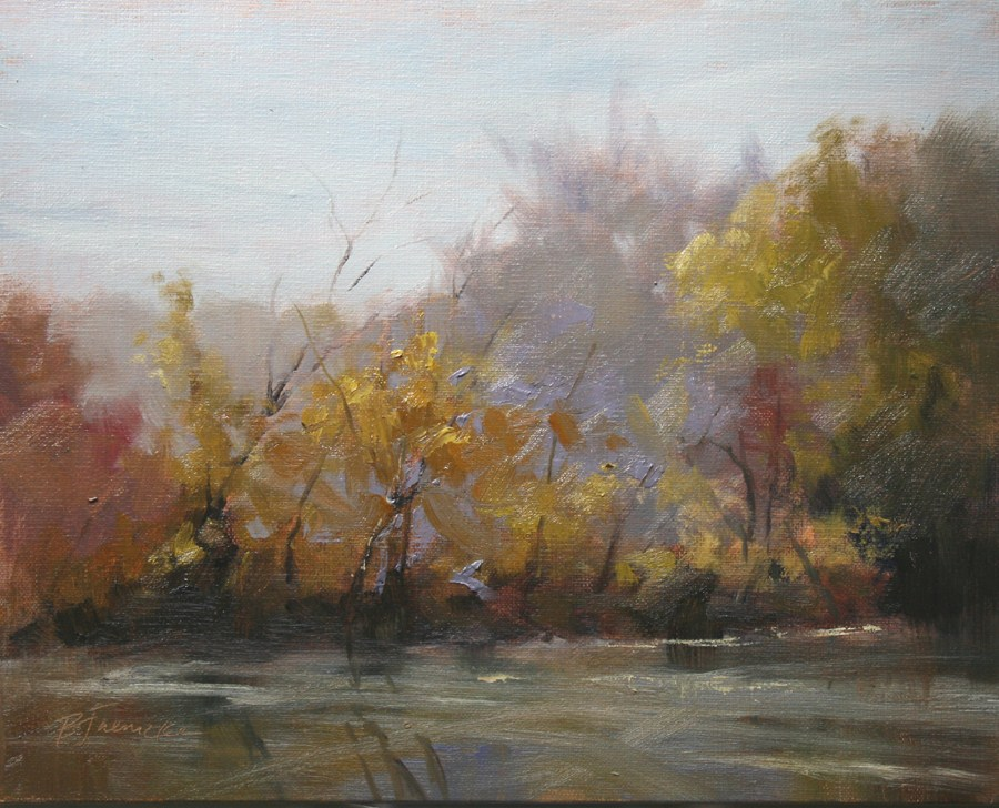 """Signs of Fall"" original fine art by Barbara Jaenicke"