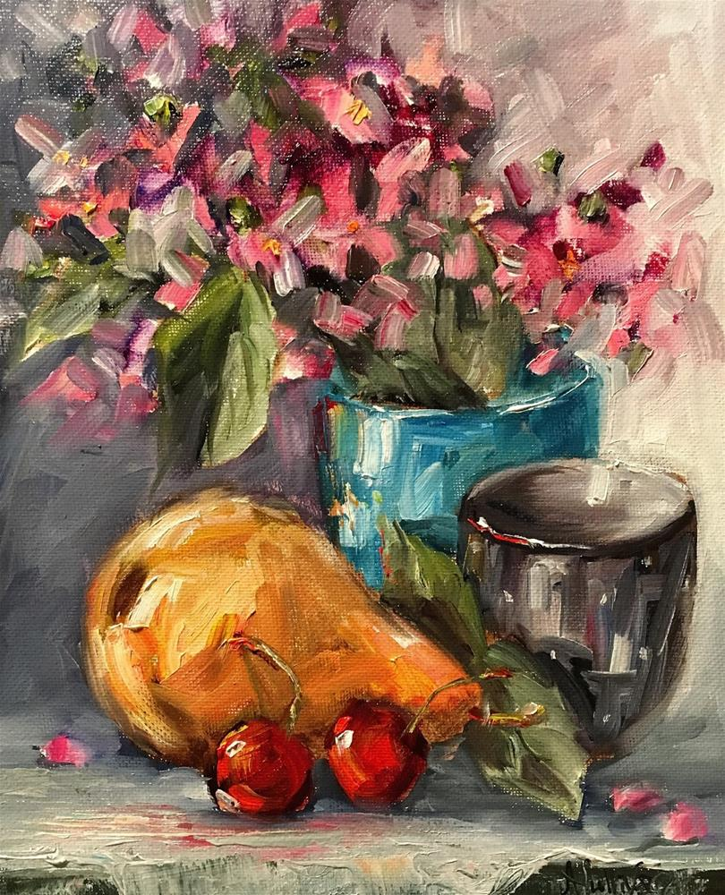 """Colors still life painting by Alabama Artist Angela Sullivan"" original fine art by Angela Sullivan"