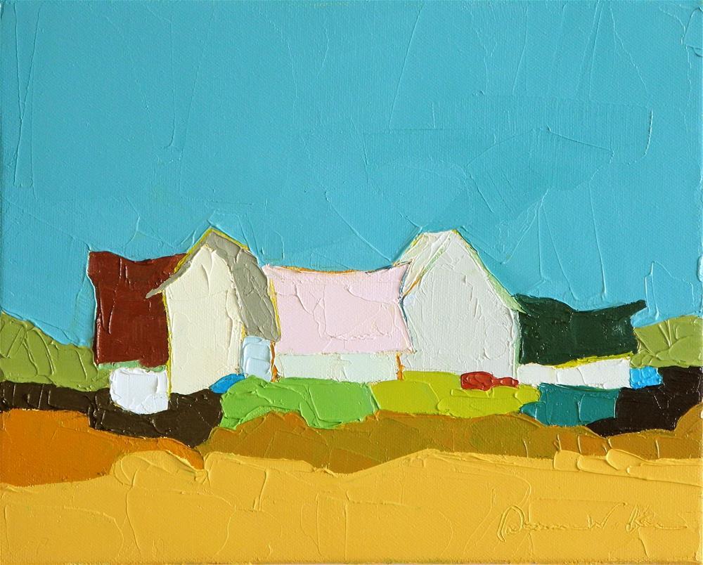 """""""All Together"""" original fine art by Donna Walker"""