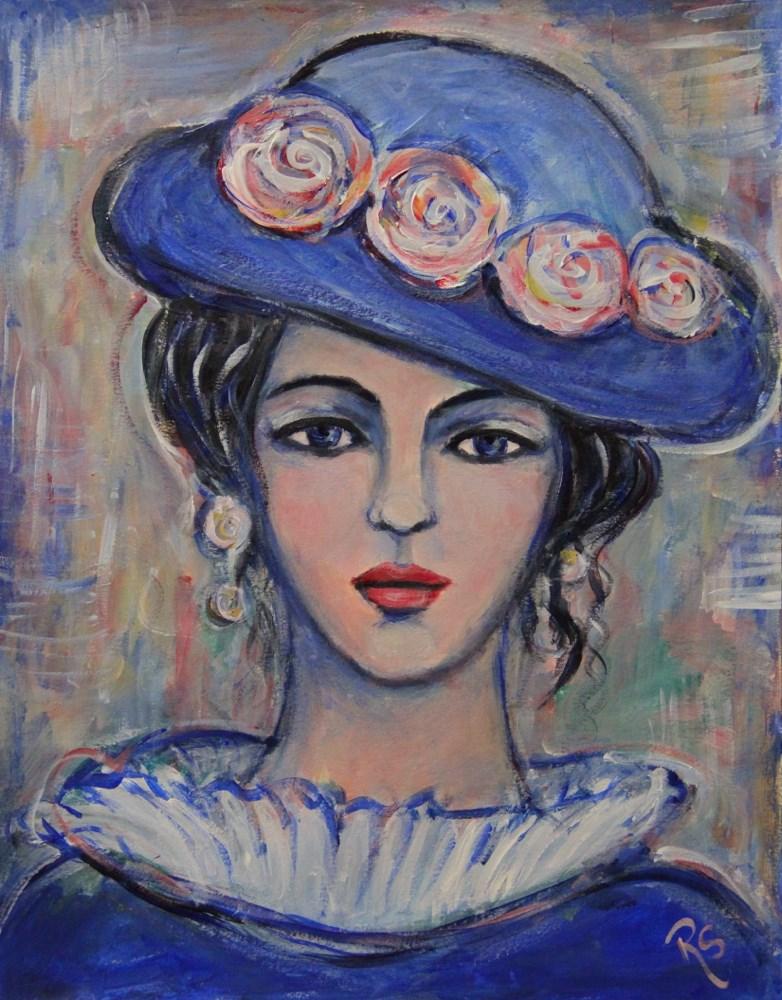 """""""Dear Bella"""" original fine art by Roberta Schmidt"""