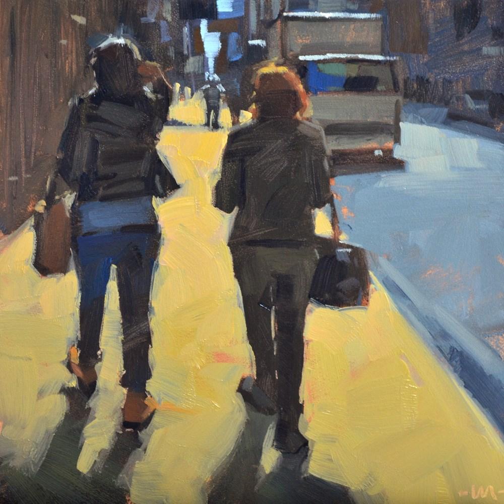 """""""No Place Like Home"""" original fine art by Carol Marine"""