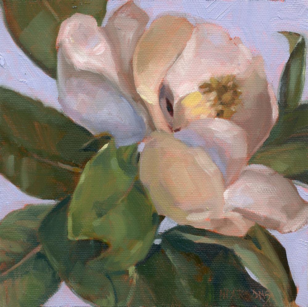 """Magnolia in Profile"" original fine art by Nancy Parsons"
